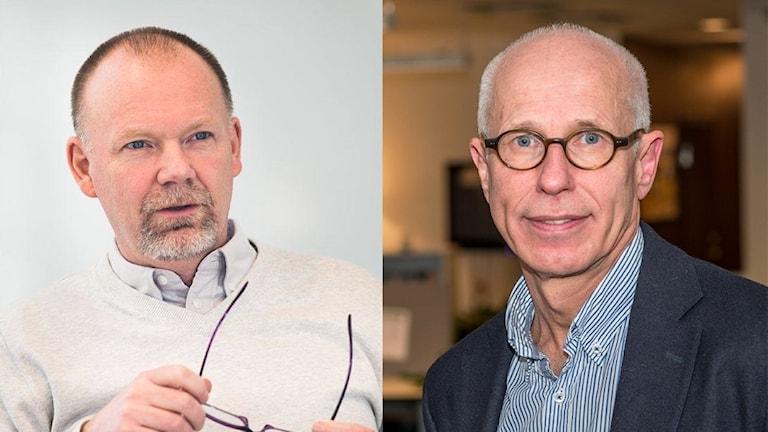 Professorerna Anders Ynneman och Anders Persson.