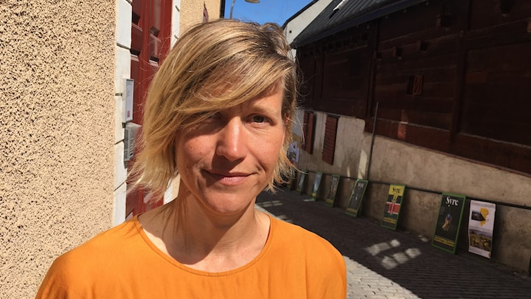 Sandra Isaksson (Fi), kommunfullmäktigeledamot i Norrköping.