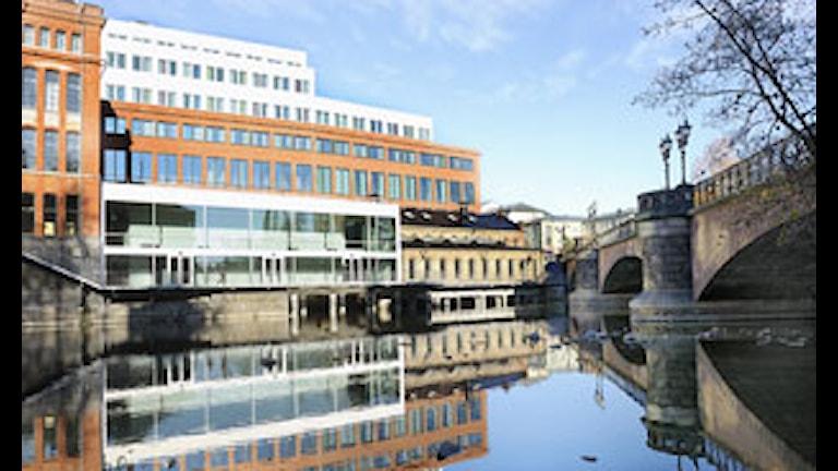Nya tillbyggnade Kåkenhus Campus Norrköping. Foto: Brita Nordholm