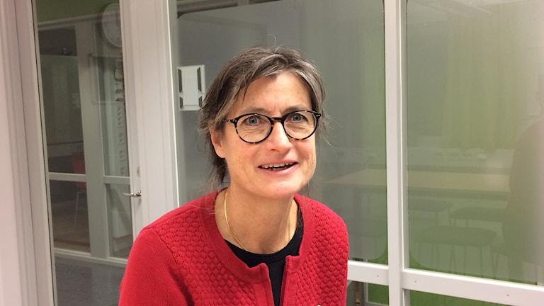 Britt Åkerlind, smittskyddsläkare Region Östergötland.