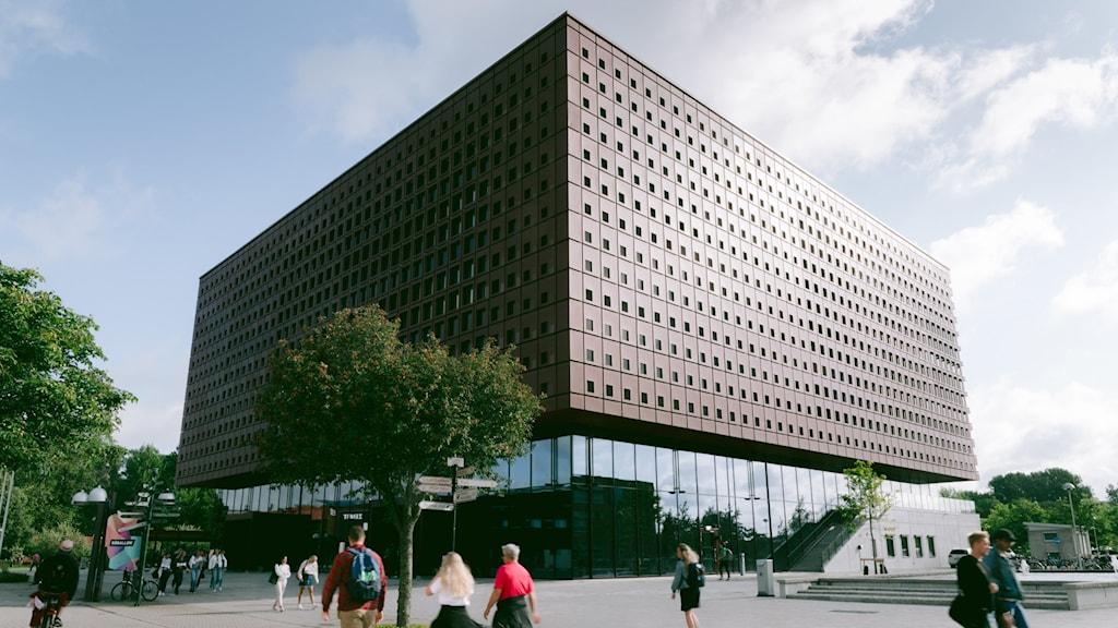 Nya Studenthuset på Linköpings universitet.