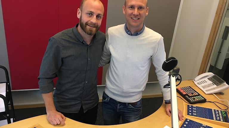 Daniel Sjölund och Andreas Johansson