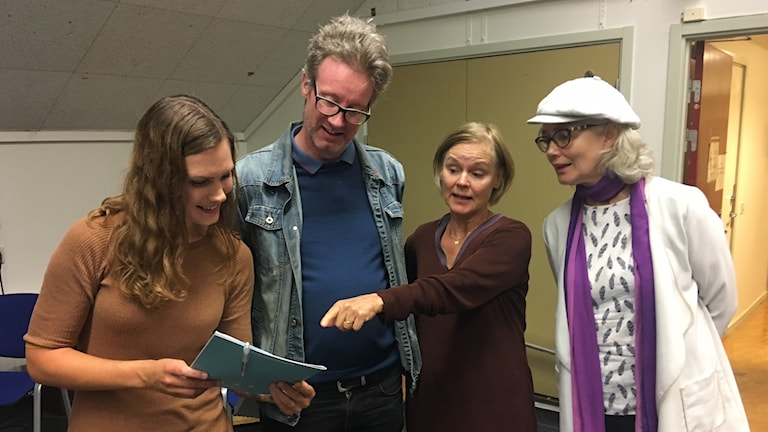 Jeanette Söderwall, Per-Johan Persson, Stina von Sydow, Marika Lagercrantz