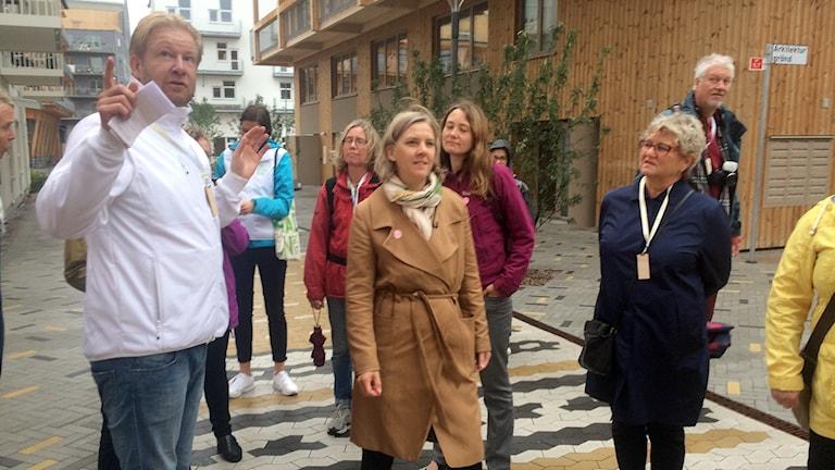 Karolina Skoog blev imponerad, av det som fanns under jorden.