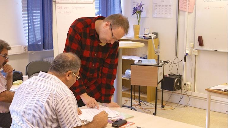 Utbildning i svenska för invandrare (SFI)
