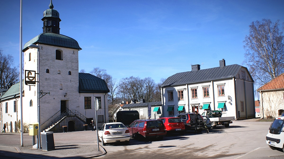 Rådhustorget Vadstena