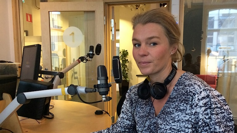 Sophia Jarl (M), oppositionsråd i Norrköping.