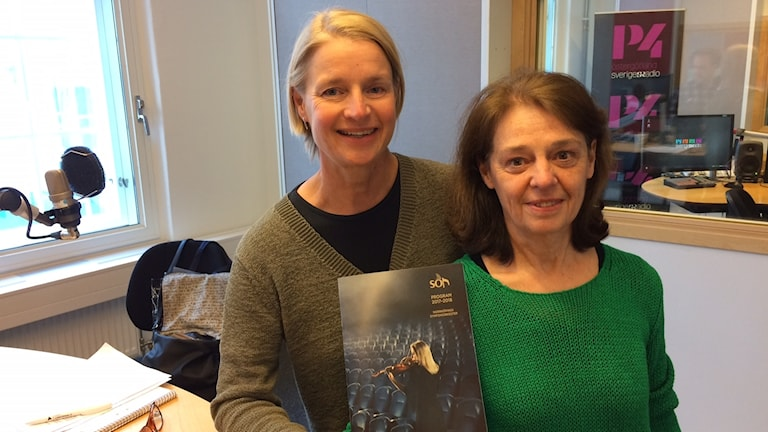 Agneta Thomas Lindmark och Carina Eklöf.