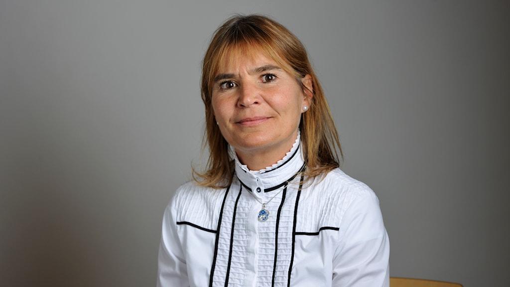 Betty Malmberg (M), riksdagspolitiker från Östergötland.