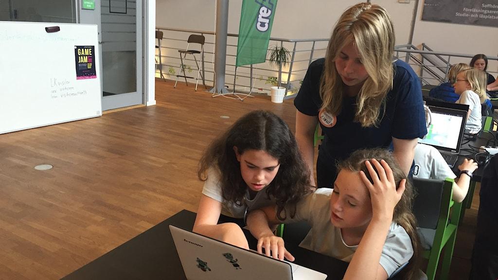 Programmeringsläger i Linköping Foto: Lisen Elowson Tosting Sveriges Radio