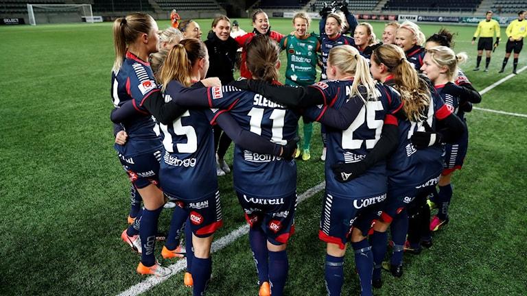 Jublande spelare i Linköping.