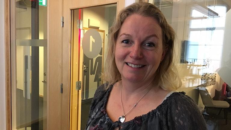 Kristina Bähr, skolöverläkare och utgivare av Hjärnpodden.