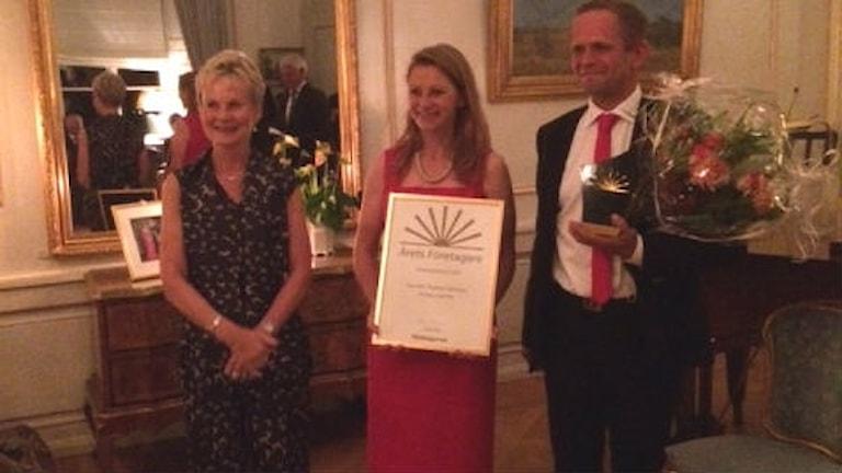 Elisabeth Nilsson, Åsa Orrenius och Thomas Orrenius.