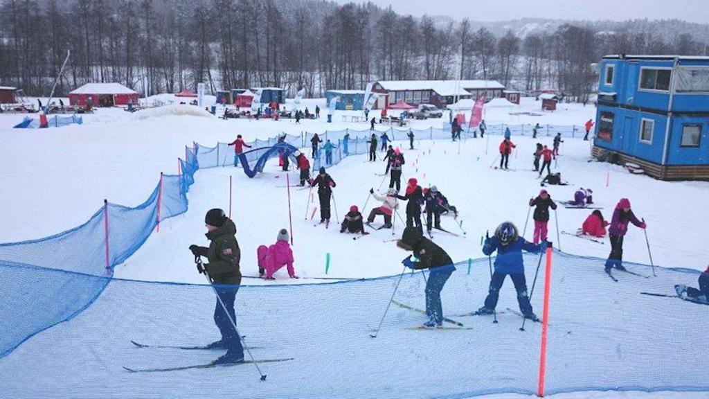 Alla på snö riktar sig till elever i årskurs fyra.