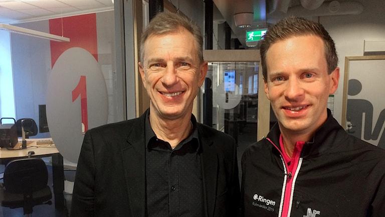 Björn Persson och Tomas Öberg