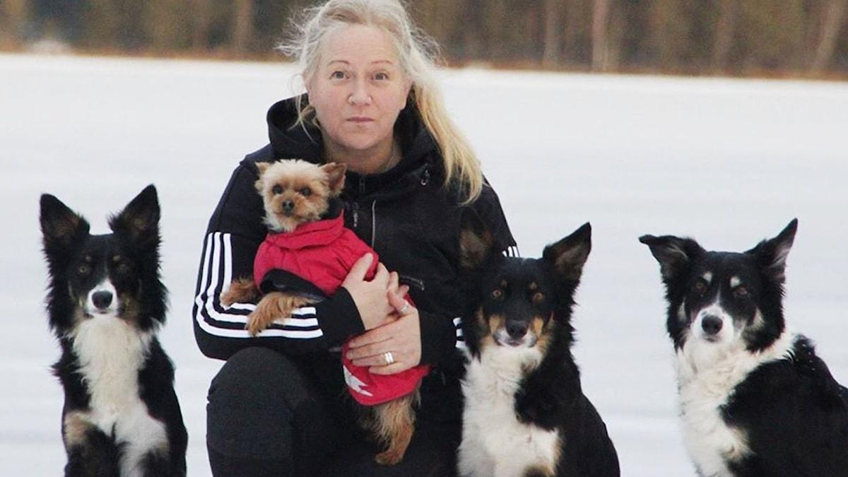 Hundtränaren Lotta Nilsdotter