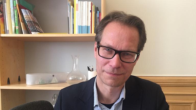 Socialdemokraten kommunalrådet Mikael Sanfridson i Linköping