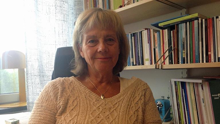 Folkhälsoforskaren Margareta Kristenson på Linköpings universitet.