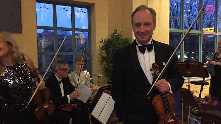 Richard Michelin från Norrköpings symfoniorkester