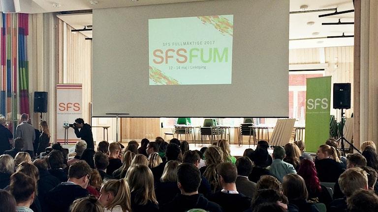 Sveriges förenade studentkårers fullmäktige i Linköping.