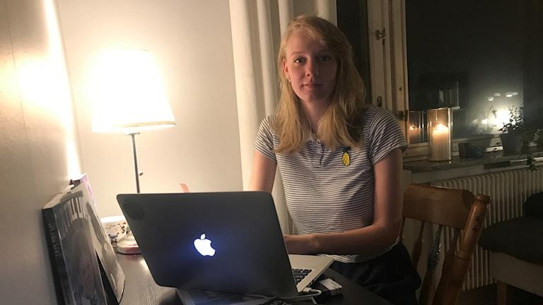 Boel Alander, en av många studenter på Linköpings universitet.
