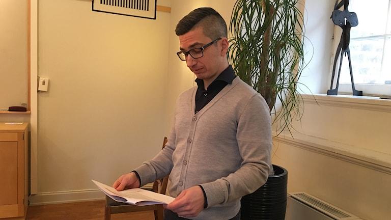 Petter Skill, ekonomidirektör i Norrköpings kommun.