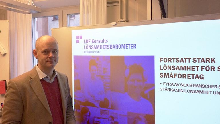 Martin Sundström, affärsrådgivare på Lantbrukarnas Riksförbund.