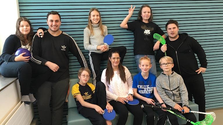 Sofia Rosén,Jacob Hagström,Hampus Moberg, Isa Gustafsson, Evelina Ferrou, Johanna Fagerström,Gustaf Hillbom, Sigge Selander, Marcus Nilsson.
