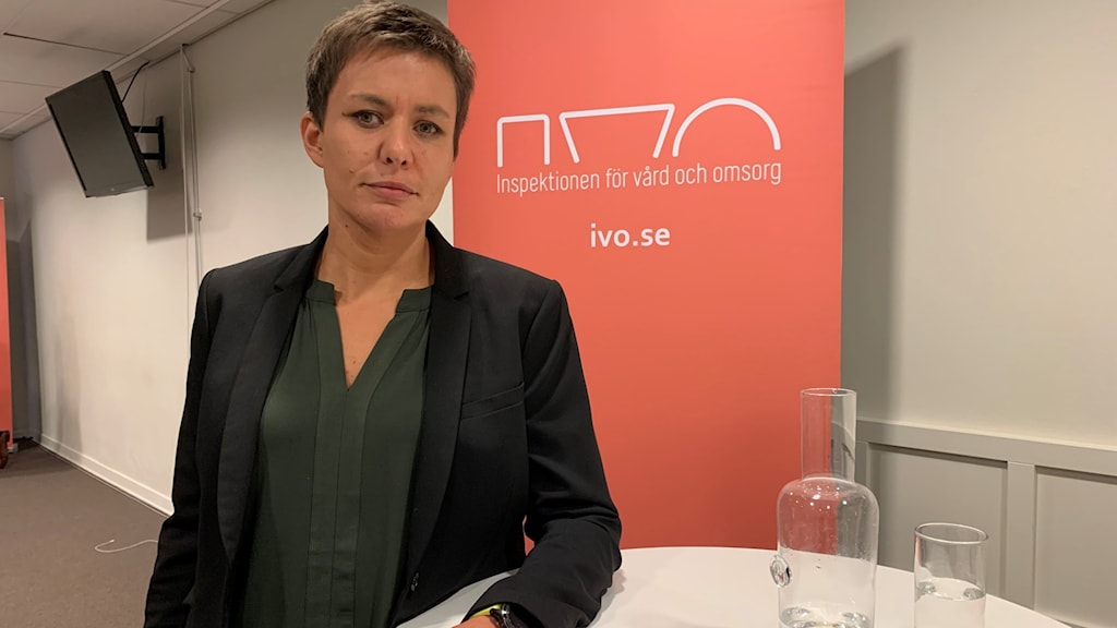 Ingela Larsson, Inspektionen för Vård och omsorg.