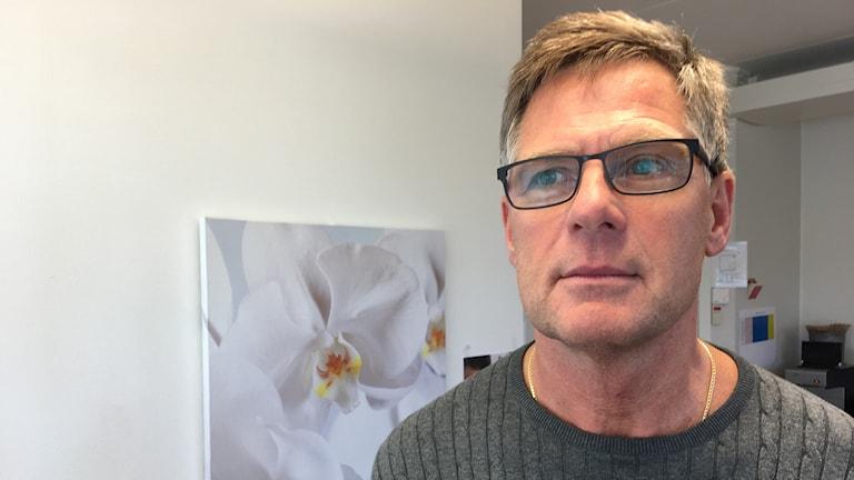 Thomas Månsson, jobbar på grova brott vid polisen i Norrköping.