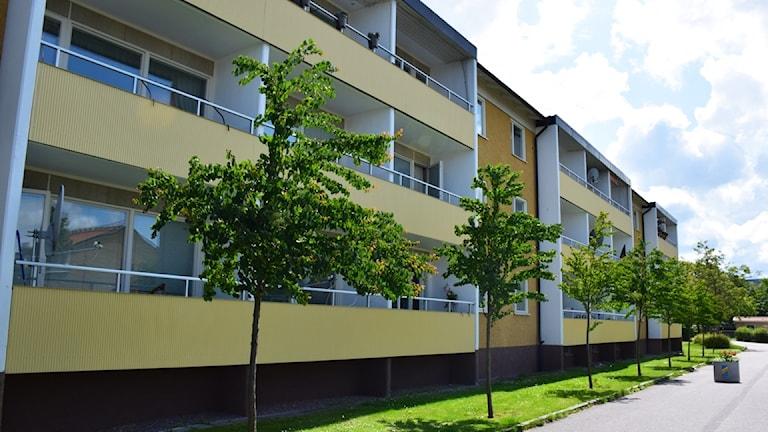 Ett av husen i Berga i Linköping som Heimstaden köper Stångåstaden.