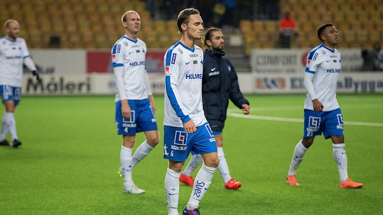 IFK Norrköping deppar efter förlust mot Elfsborg i oktober 2016.