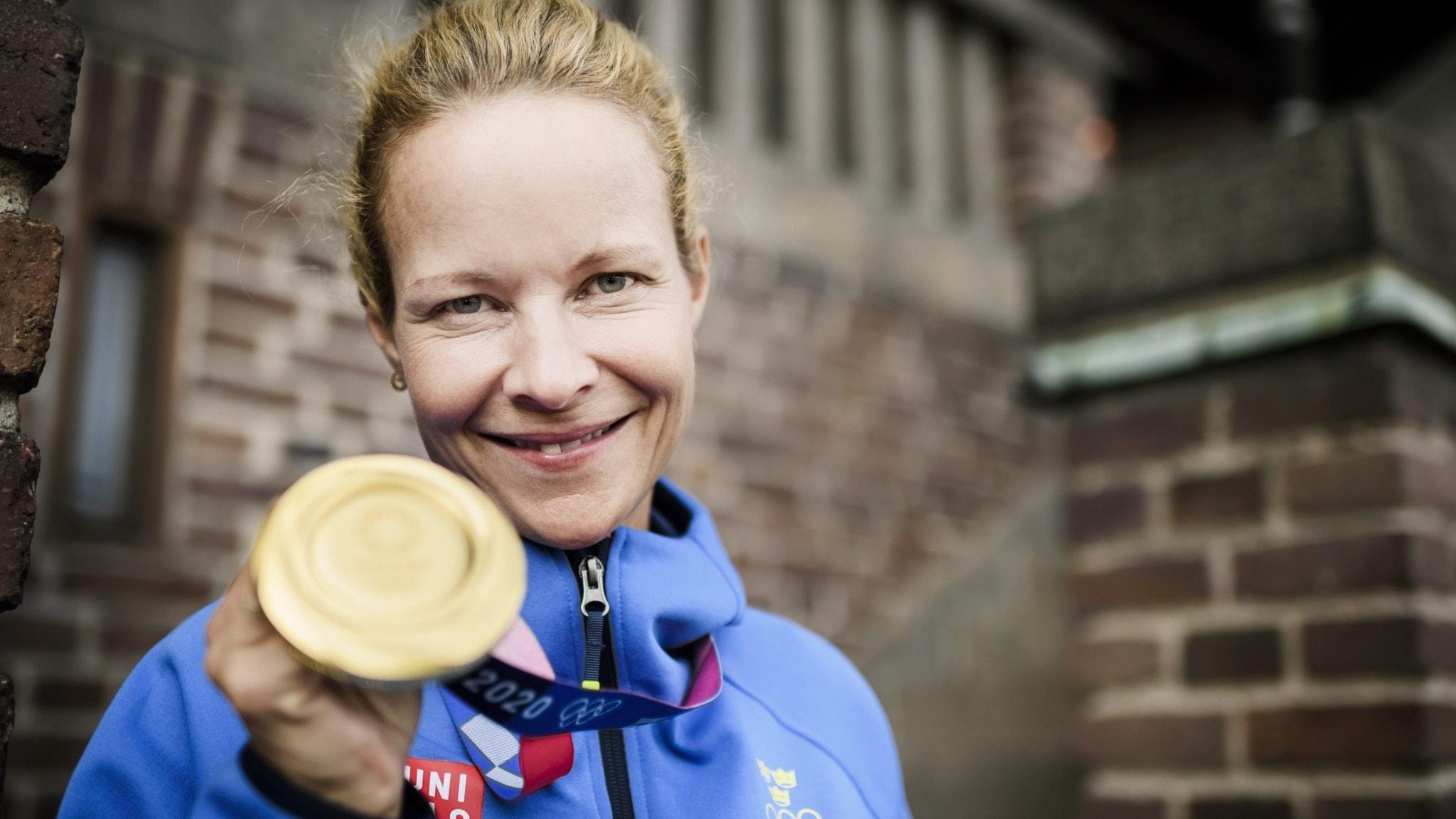 Hektiska dagar för Malin Baryard-Johnsson efter guldet: Överväldigande