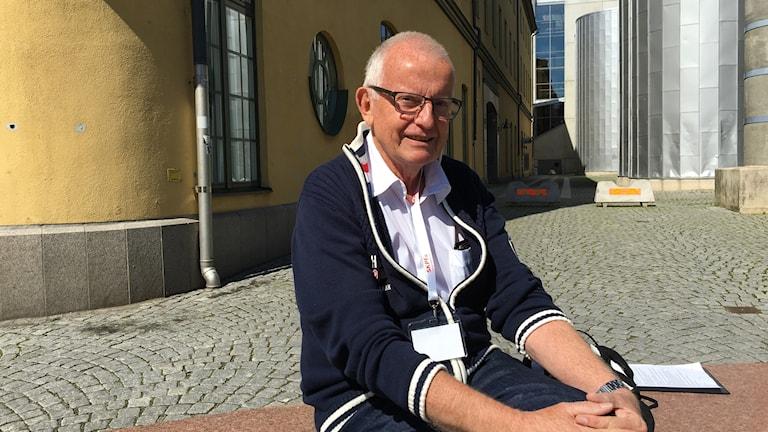 Curt Karlsson, ordförande PRO Östergötland.