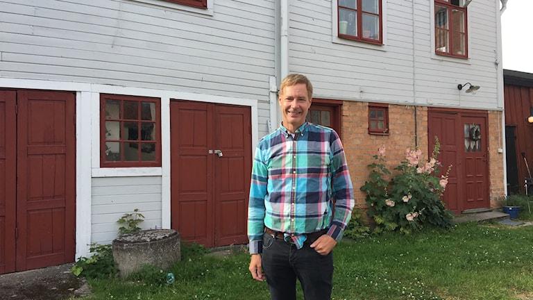Mats Fredriksson, slottsarkitekt.