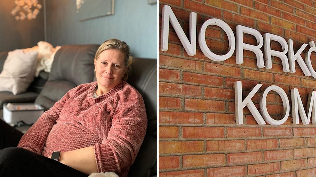 Camilla Söderlund, 49, har den ovanliga muskelsjukdomen Taruis.