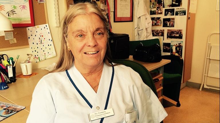 Pia Forsberg, överläkare, professor infektionsmedicin vid Linköpings universitet.