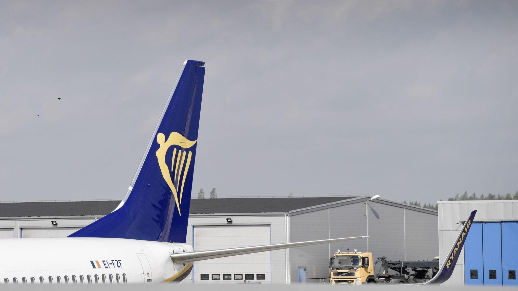 Ryanair minskar flygningar från Skavsta Bild Östergötland