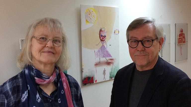 Lillevi Hultman och Sten Swartling.