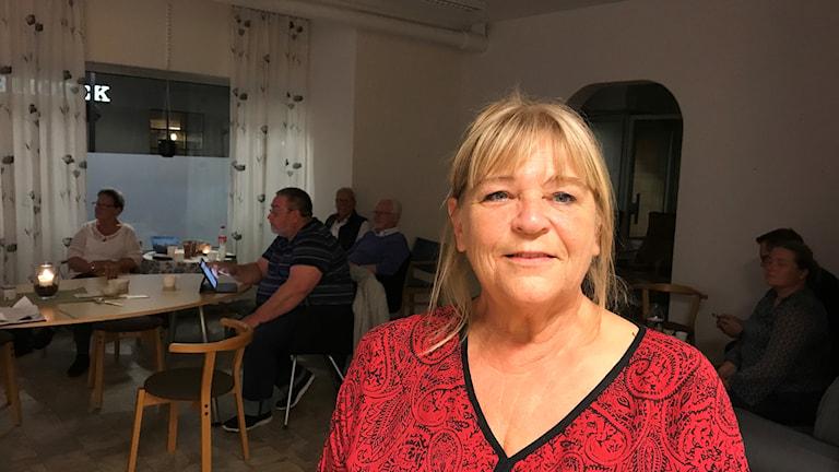Britt-Marie Johansson (S) Boxholm.