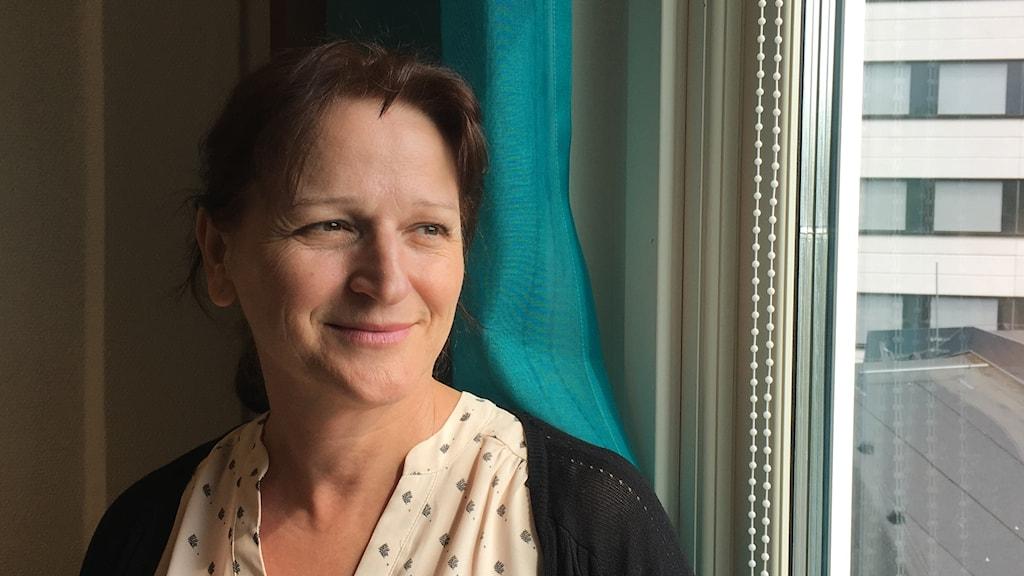 Produktionsenhetschef Mara Kosovic på Primärvårdscentrum i Region Östergötland.