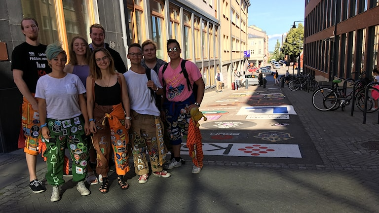 Faddrar intill Campus i Norrköping.