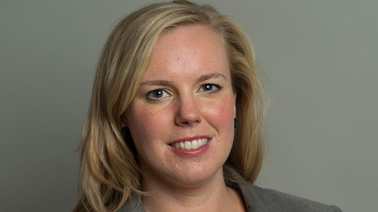 Linda Snecker (V), riksdagsledamot från Norrköping.