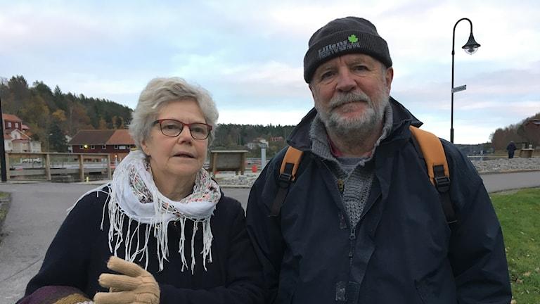 Gunnel Sjögren och Göran Lundin i Valdemarsvik.