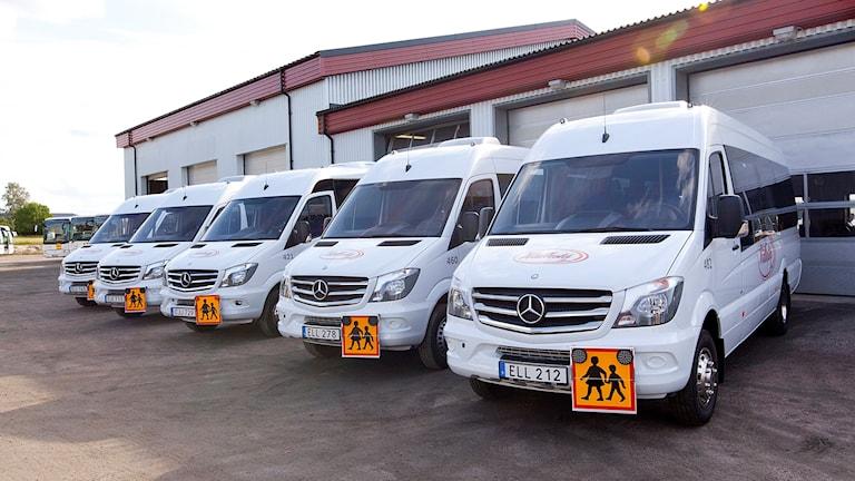 Skolskjutsar på Hällestá Buss