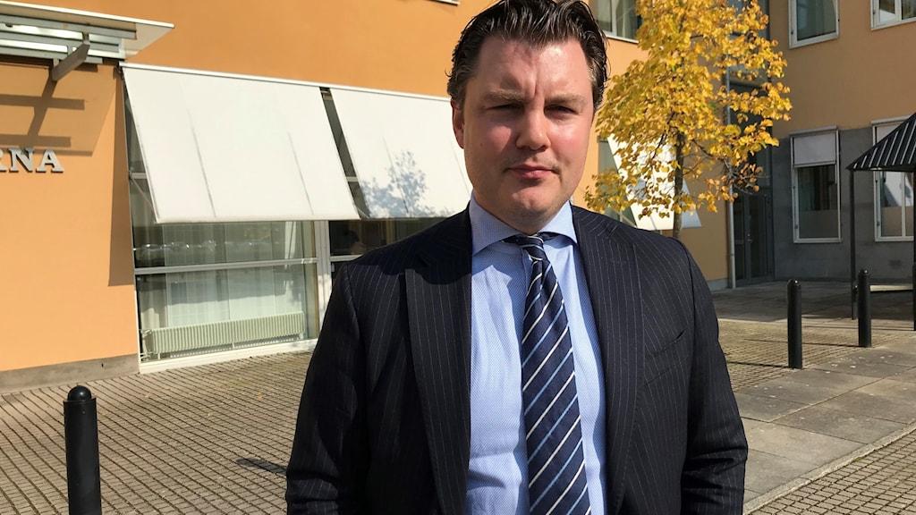 Försvarsadvokat Johan Ritzer