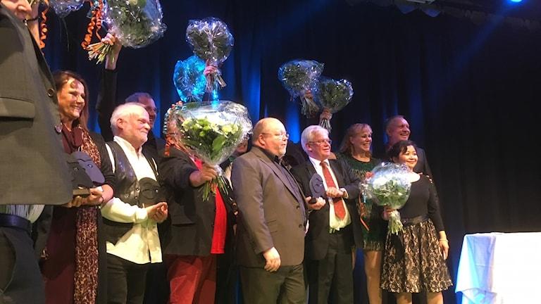 Pristagarna på Landsbygdsgalan 2017.
