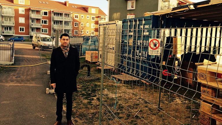 Carl-Magnus Miettinen, byggchef på Bostadsbolaget i Mjölby.