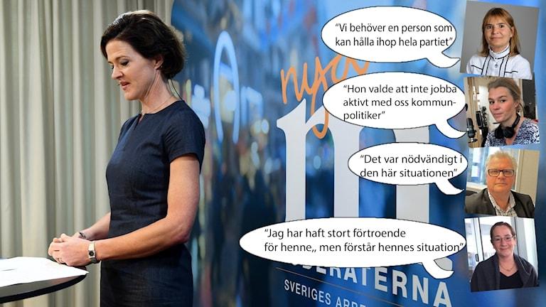 Anna Kinberg batra och östgötamoderater