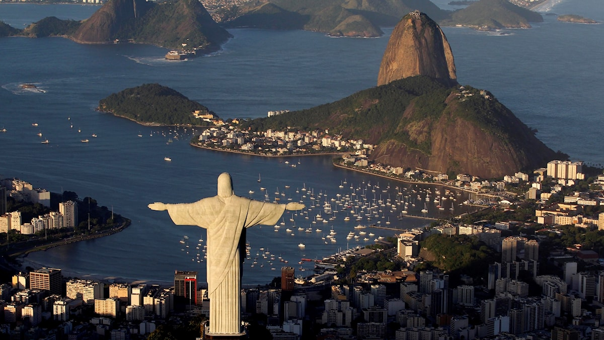 Kristusstatyn i Rio.